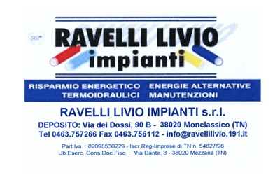 RAVELLI LIVIO idraulico