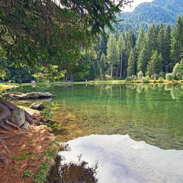 Scorcio lago