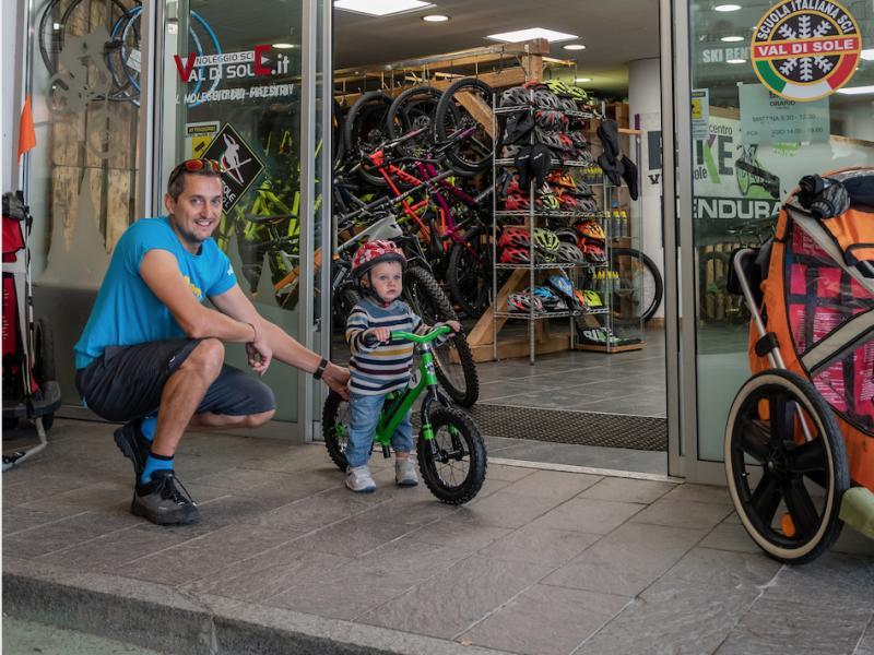 Imparare ad andare in bici senza rotelle