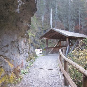 la cascata del Pison